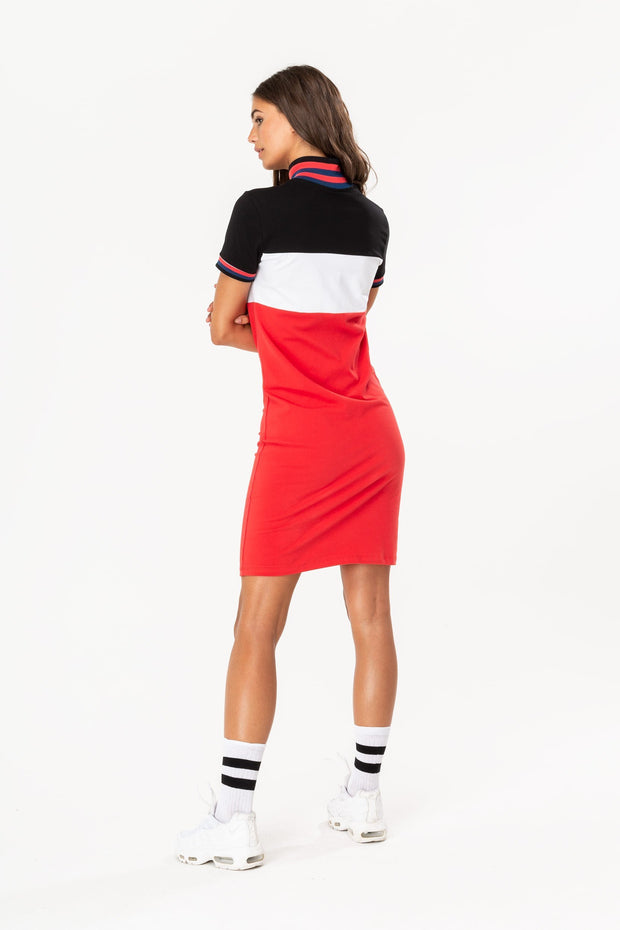 Hype Red 1993 Women's Dress