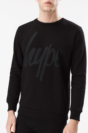 Hype Script Men's Crewneck