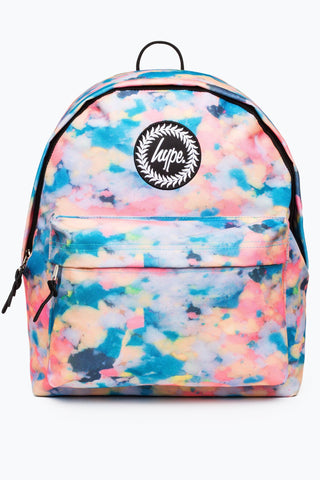c78b2d574b25 Hype Silver Glitter Backpack · Hype Multi Pastel Sponge Backpack