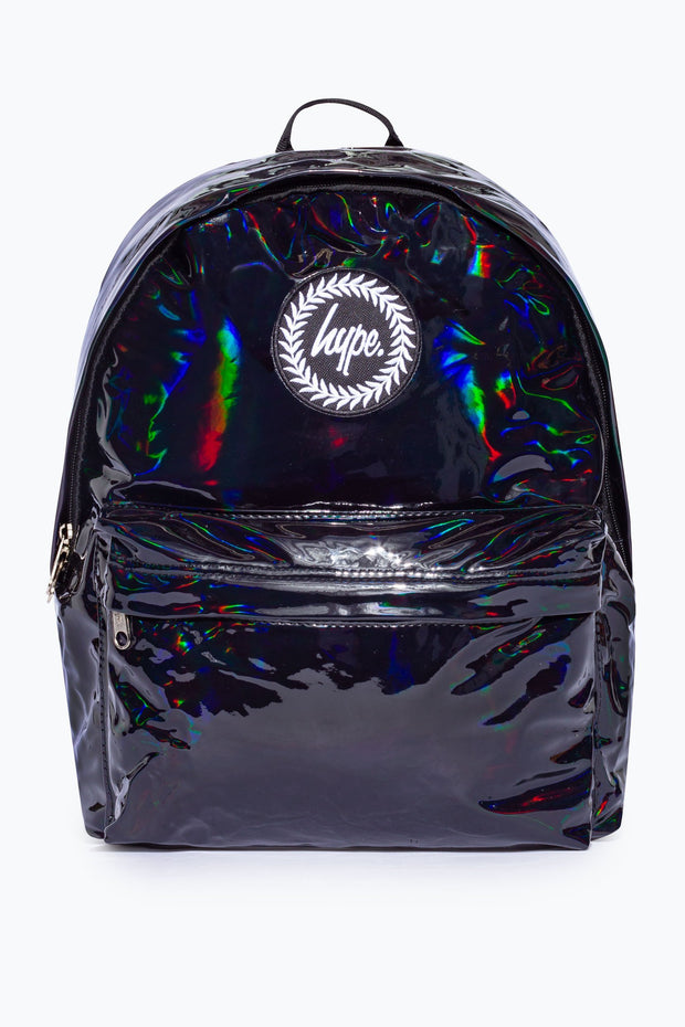 Hype Black Holographic Backpack