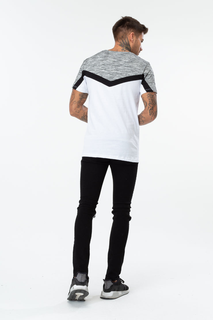 Hype Grey/Black/White Arrowhead Men's T-Shirt