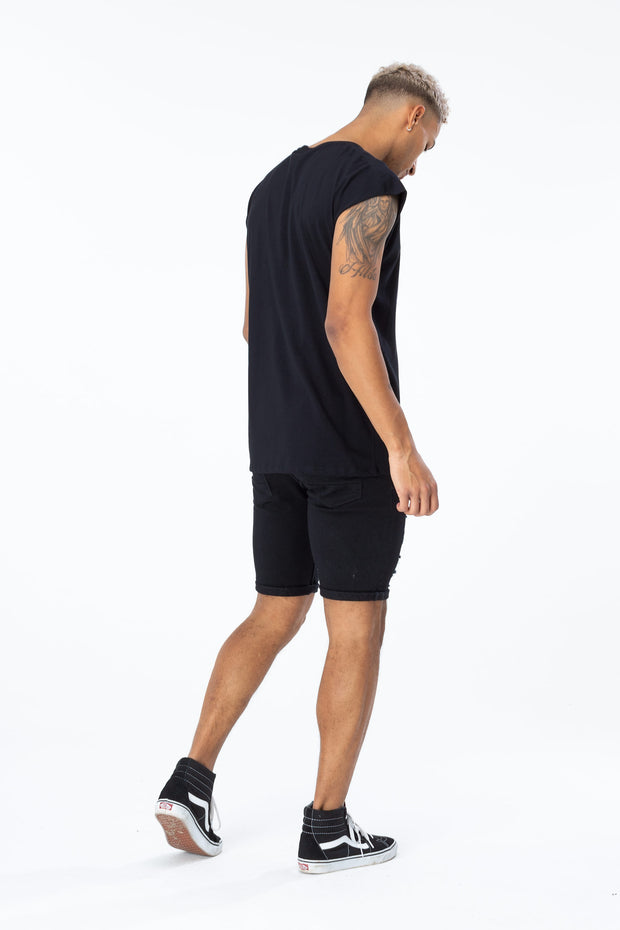 Hype Black Video Script Men's Sleeveless T-Shirt