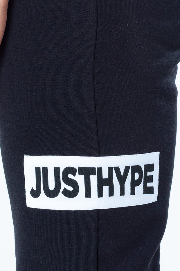 Hype Black/White Just Hype Stripe Men's Joggers