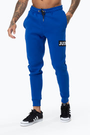 Hype Cobalt Just Hype Stripe Men's Joggers