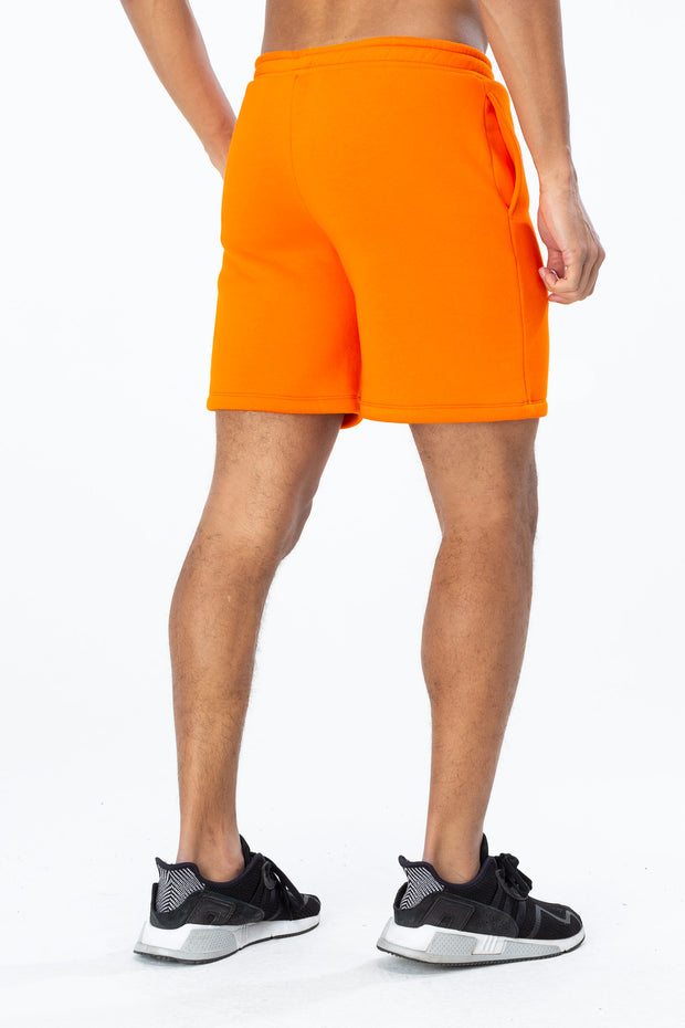 Hype Orange/Black Just Hype Stripe Men's Shorts