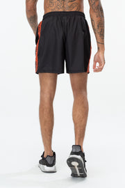 Hype Black/Orange Warning Tape Men's Shorts