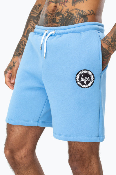 Hype Sky Blue Crest Men's Shorts