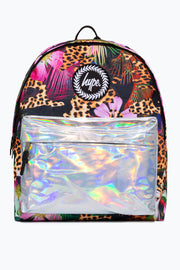 Hype Multi Holographic Jungle Backpack