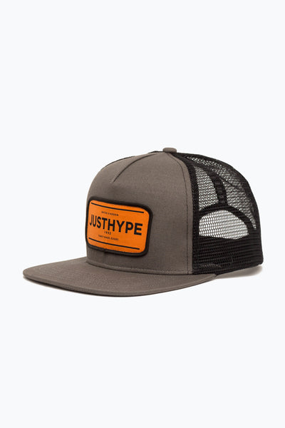 Hype Khaki/Orange Jh Stamped Trucker Hat