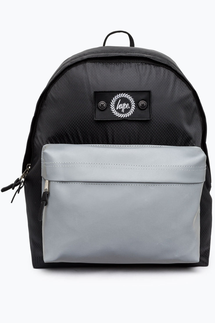 Hype Black Insignia Ripstop Backpack