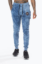 Hype Blue Acid Crest Men's Joggers