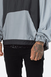 Hype Grey Fishtail Reflective Men's Jacket
