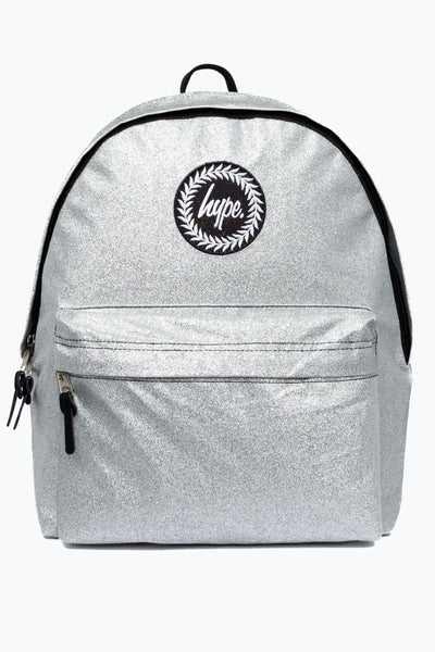 Hype Silver Glitter Backpack