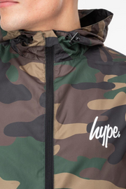 Hype Camo Men's Runner Jacket