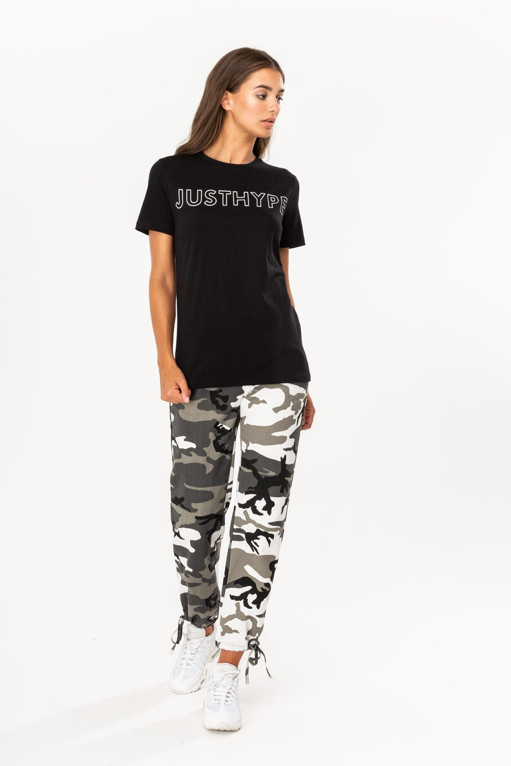 Hype Black/White Justhype Women's T-Shirt