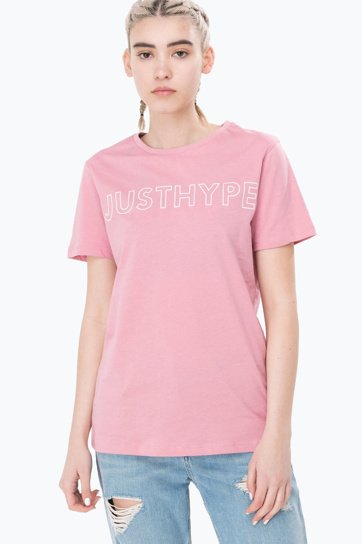 Hype Pink Justhype Women's T-Shirt