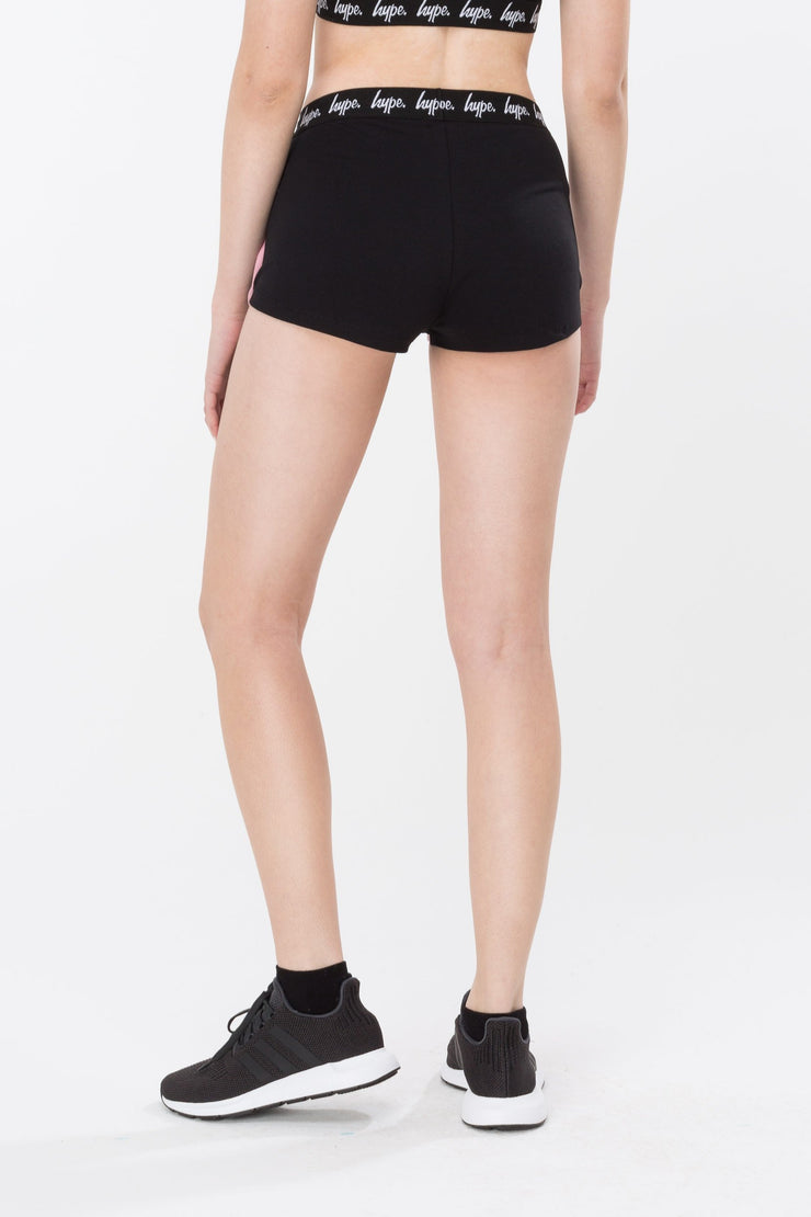 Hype Black Running Women's Shorts