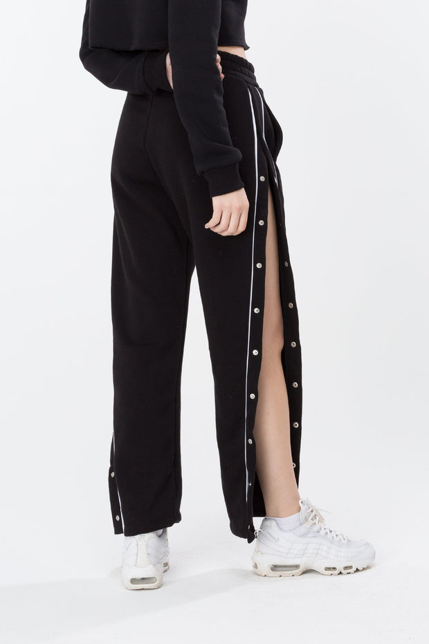 Hype Black Popper Women's Joggers