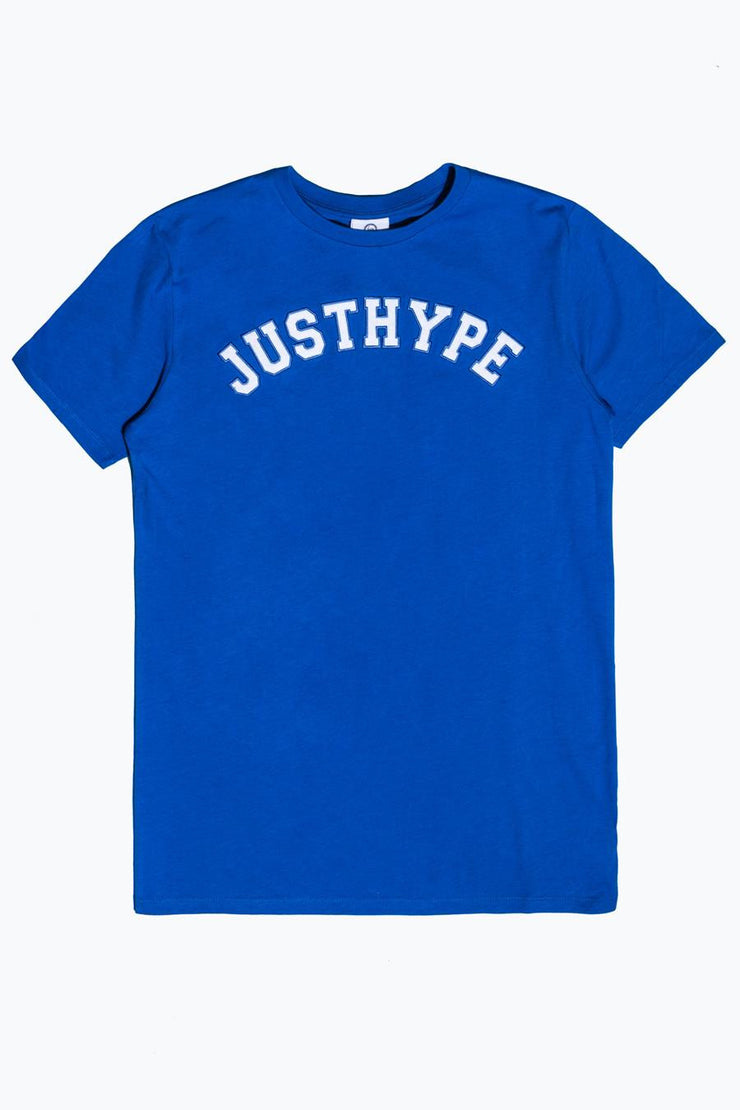 Hype Blue/White Just Hype College Men's T-Shirt