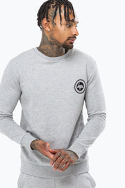 Hype Flec Crest Grey/Blue Men's Crewneck