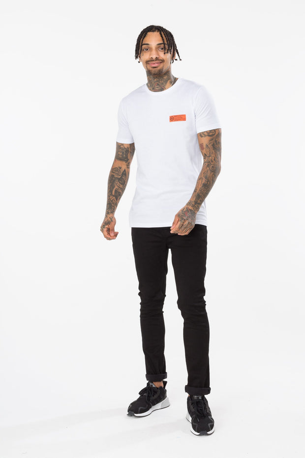 Hype White Military Men's T-Shirt