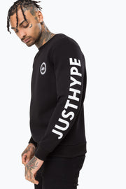Hype Black United Kingdom Men's Crewneck