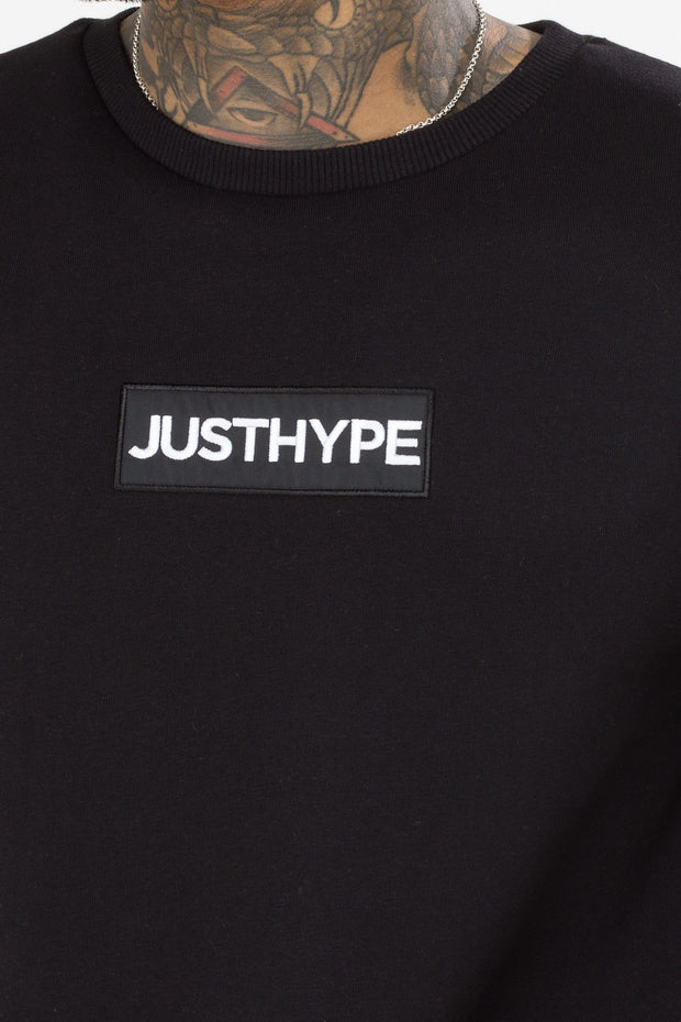 Hype Black Block Logo Men's Crewneck