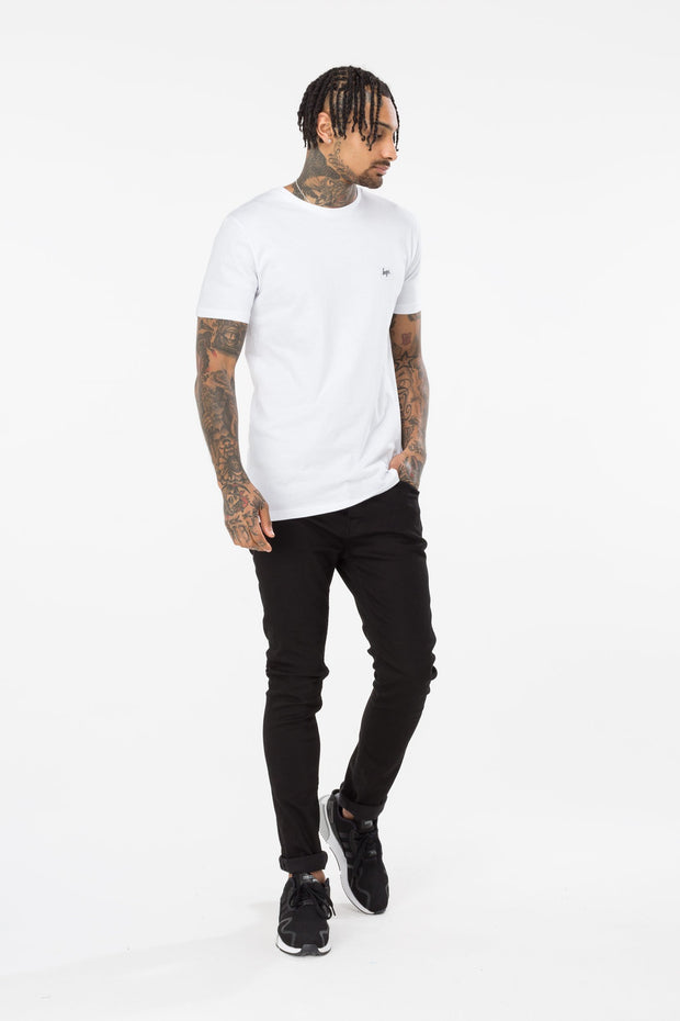 Hype Multi Core Black White Men's T-Shirt Pack X2