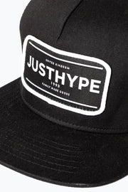 Hype Black/White Jh Stamped Trucker Hat