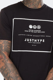 Hype Black Royal Men's T-Shirt