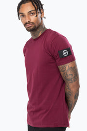 Hype Burgundy Insignia Men's T-Shirt