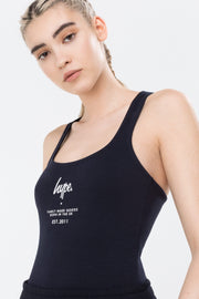 Hype Navy Fmg Women's Bodysuit