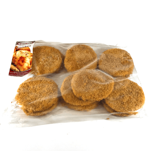 Crumbed Chicken Burgers 1kg
