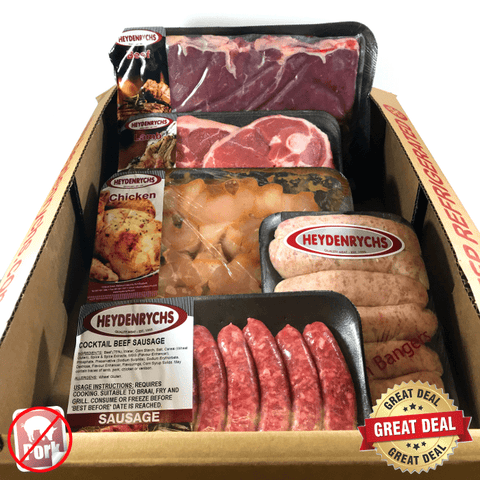'No Pork' Braai Box