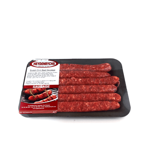 Sweet Chilli Beef Sausage 400g