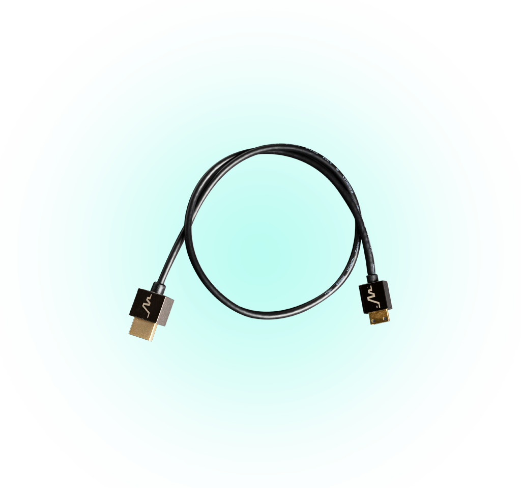 HDMI to mini HDMI cables