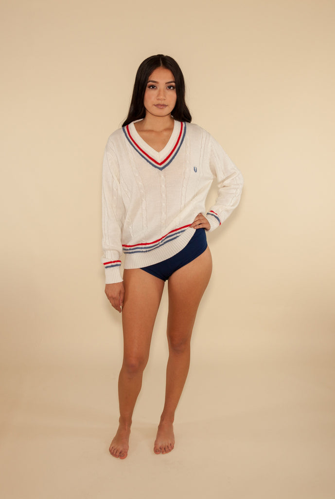 Fred Perry College Prep Sweater