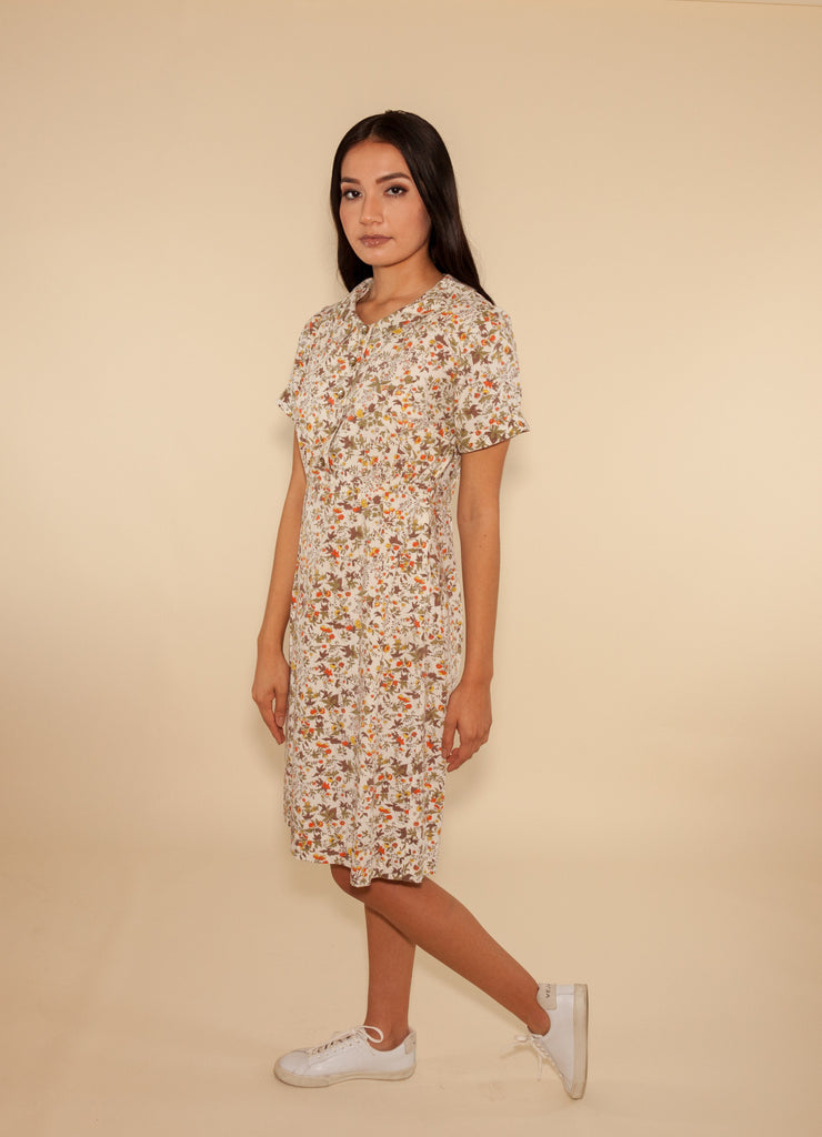 Botanical Floral Dress