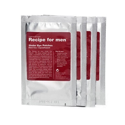 Recipe For Men Under Eye Patches 4 Pack  £12.60