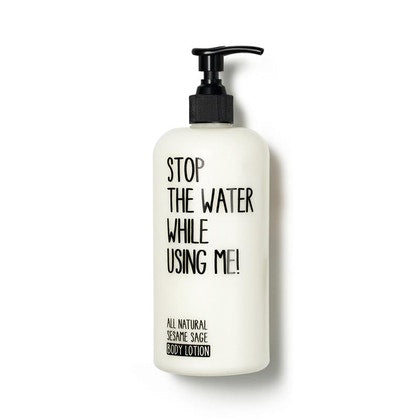 Stop The Water While Using Me Sesame Sage Body Lotion 200ml  £14.40