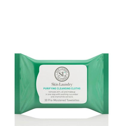 Skin Laundry Purifying Makeup Remover Cleansing Cloths Pack of 30  £9.80