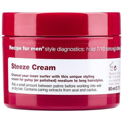 Recipe For Men Recipe For Men Steeze Cream 80ml  £14.40
