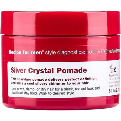 Recipe For Men Recipe For Men Silver Crystal Pomade 80ml  £14.40