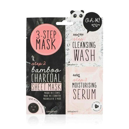 OH K! Multi Step Face Mask With Charcoal  £8.50