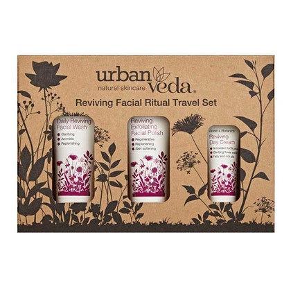 Urban Veda Reviving Facial Ritual Travel Sets  £11.99