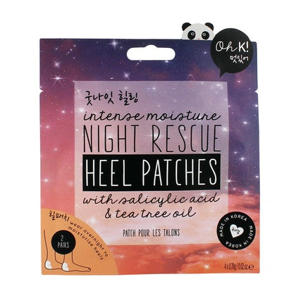 OH K! Night Rescue Heel Patches x4  £3.50