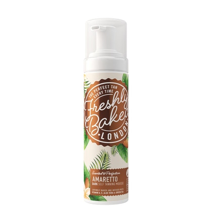 Freshly Baked London Dark Amaretto Self Tan Mousse  £14.00