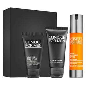CLINIQUE FOR MEN DAILY ENERGY & PROTECTION Gift Set for him