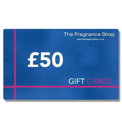 The Fragrance Shop Gift Card £50 Gift Card  £50.00
