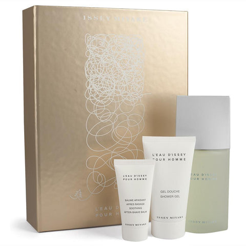 Issey Miyake 3-piece Gift Set for Men affordable, classic